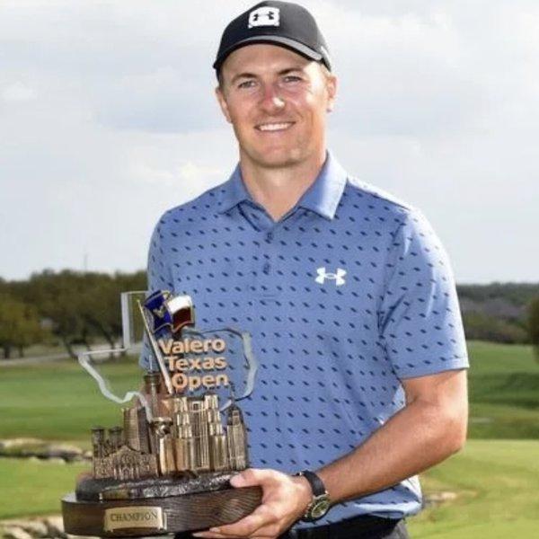 Jordan Spieth winner Valero Texas Open