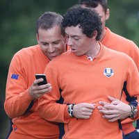 Photo of Rory McIlroy & Sergio Garcia