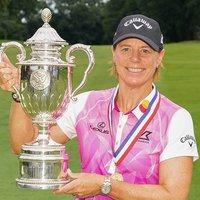 Annika Sorenstam US Senior Open Champion