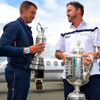 Photo of Henrik Stenson & Jimmy Walker (2016)