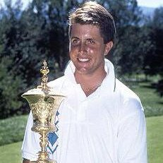 Photo of Phil Mickelson winner of the US Amateur at Cherry Hills (1990)