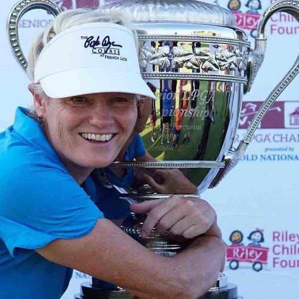 Trish Johnson winner of the Senior LPGA Championship 2021