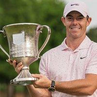 Rory McIlroy Champion Wells Fargo Championship 2021