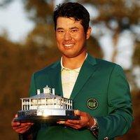 Hideki Matsuyama Champion of The Masters 2021